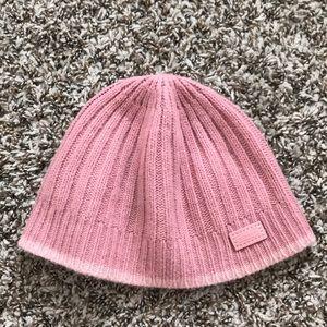 Pink Coach beanie